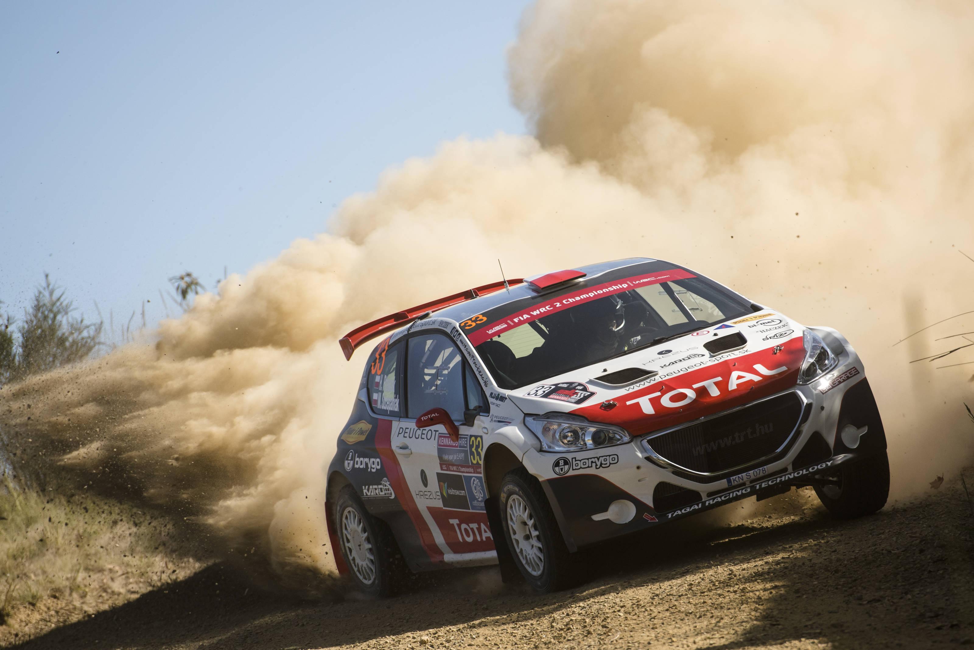Ο Hubert Ptaszek με τον Peugeot 208 T16 R5 συμπλήρωσε το βάθρο της WRC2