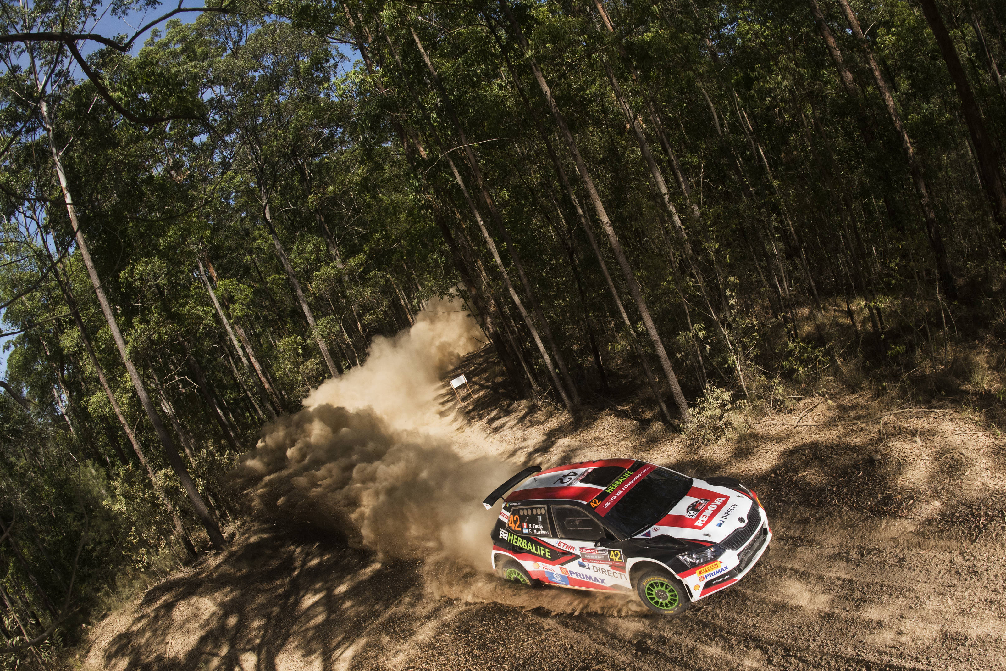 Ο Nicolas Fuchs τερμάτισε στην δεύτερη θέση της WRC2
