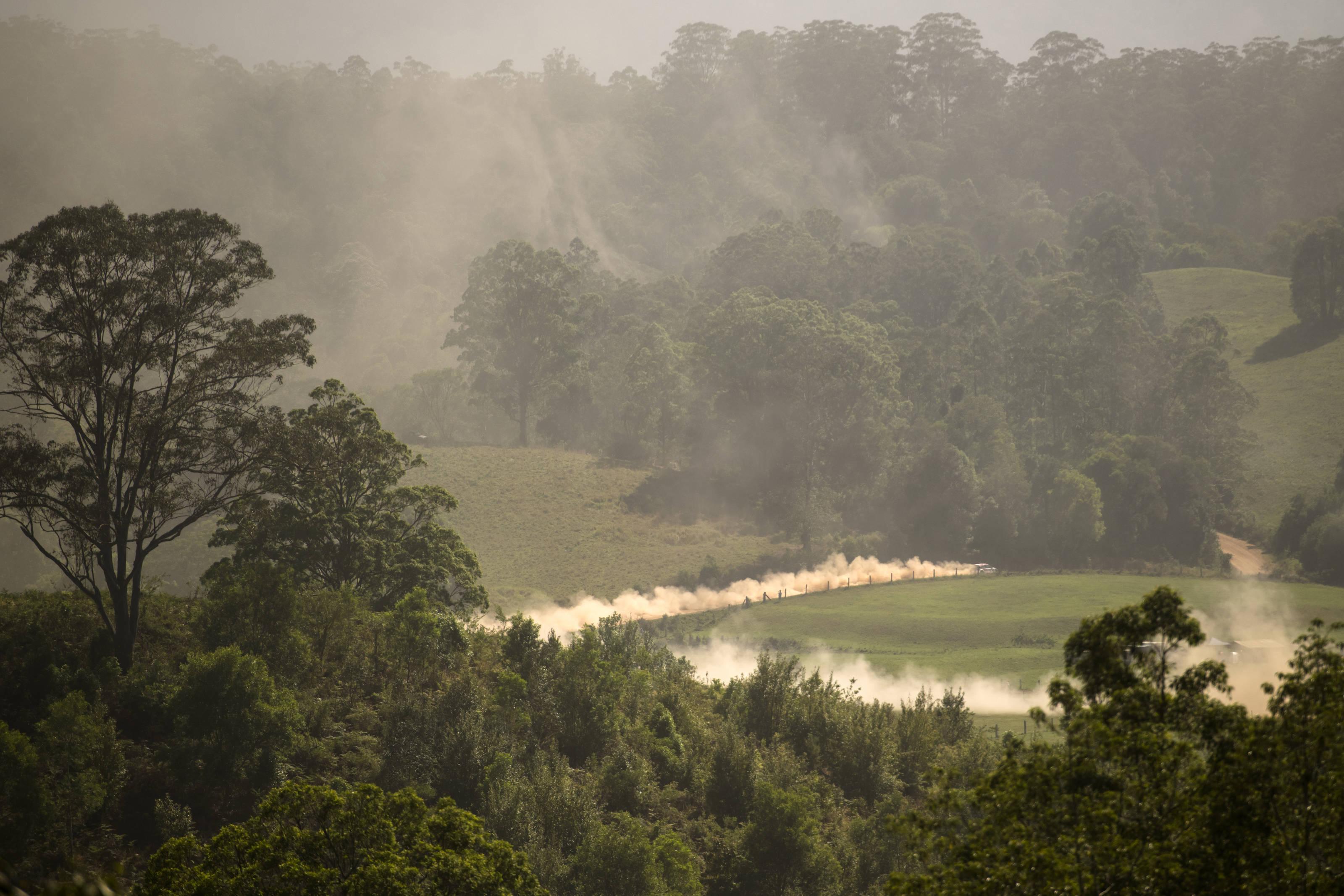 Κάθε γύρος του WRC μας προσφέρει όμορφα τοπία