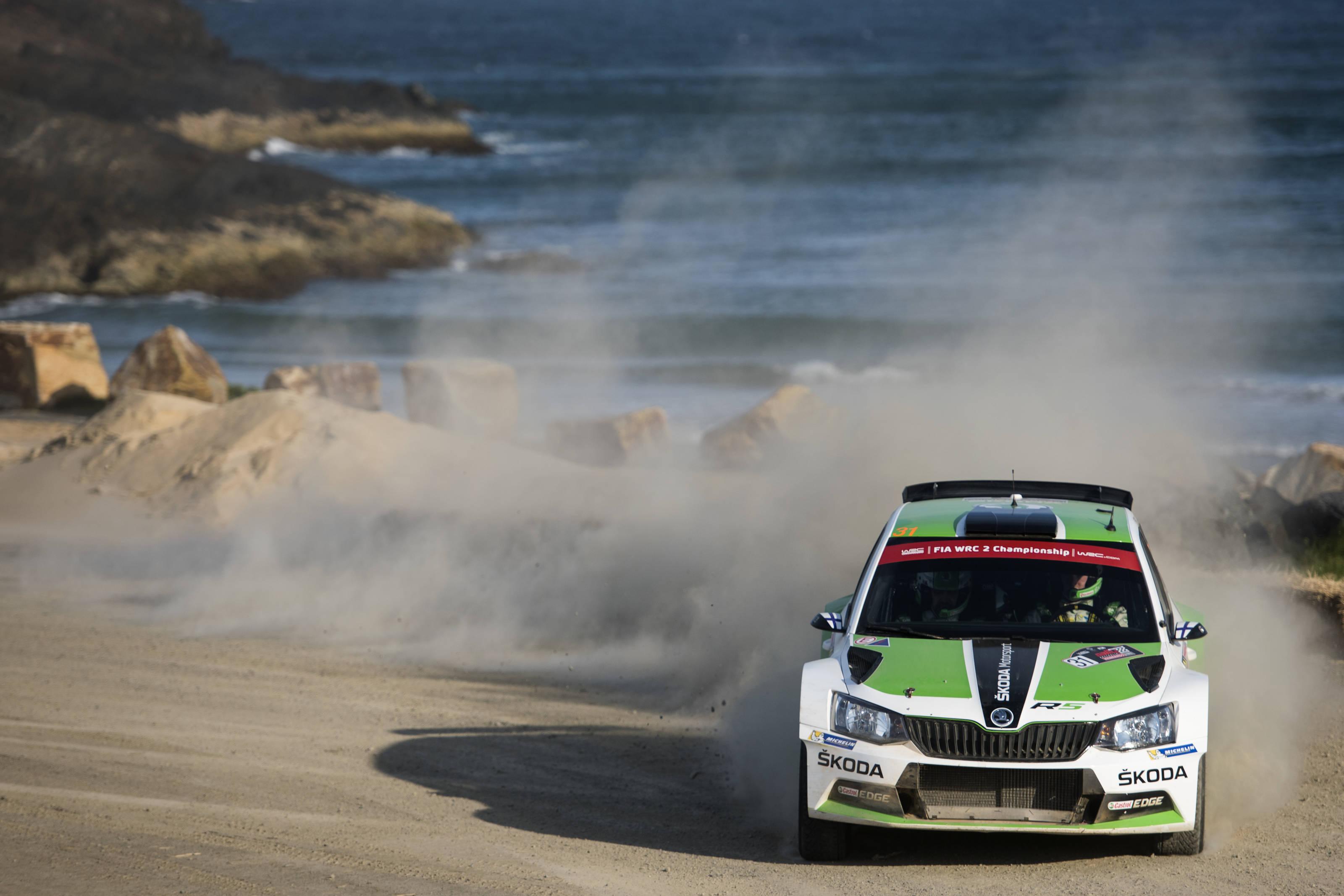 Ο πρωταθλητής της WRC2 Esapekka Lappi