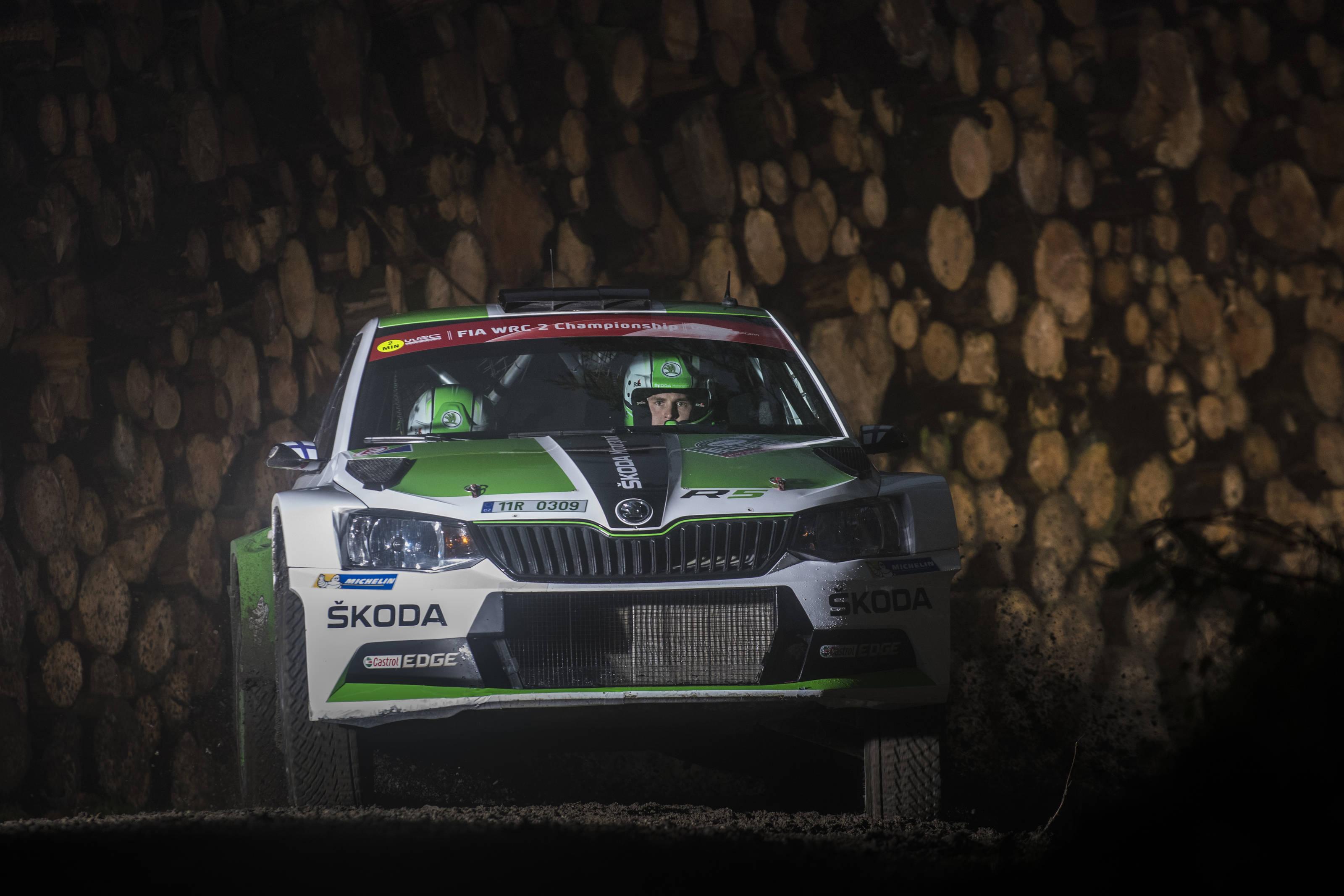 Ο νικητής της WRC2 Esappeka Lappi
